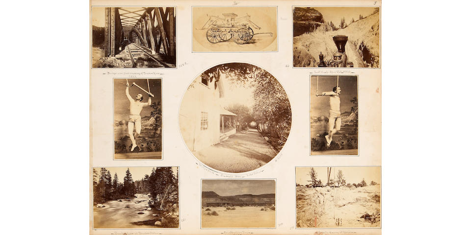 [PHOTOGRAPHY - HART & WATKINS ALBUM.]