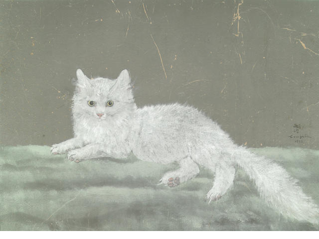 Tsuguji Foujita White Cat 1933