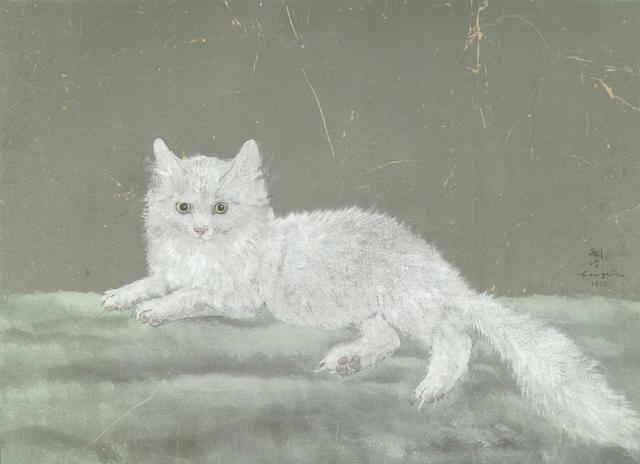 Tsuguji Foujita White Cat 1933
