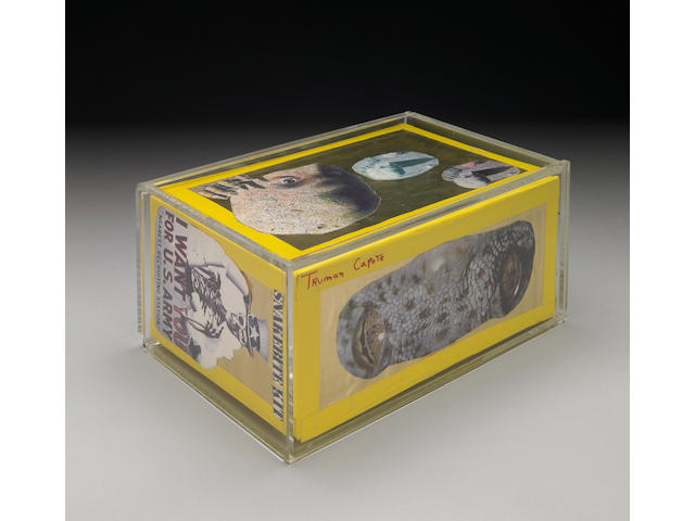 """A collage box: """"Mystery"""""""