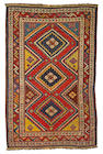 Southwest Persian rug size approximately 4ft 1in x 6ft 3in