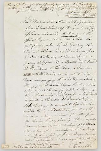 FRANKLIN, BENJAMIN.  1706-1790.