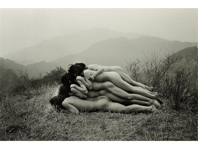 Zhang Huan; To Add One Meter to an Anonymous Mountain;