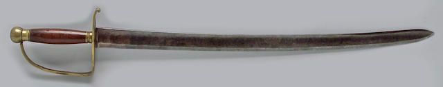 An infantry officer's sword