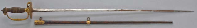 An eagle head smallsword