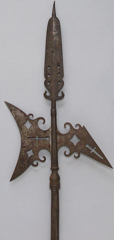 A New England colonial halberd