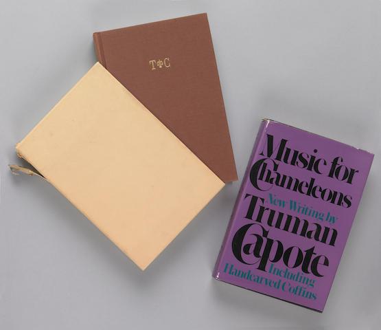 Capote, Truman.  Various titles.