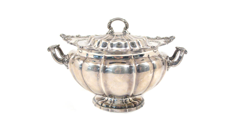 Sterling Soup Tureen with Cover by Gorham