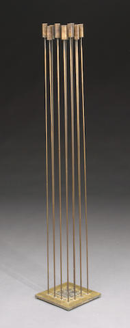 Harry Bertoia (American 1915-1978) Untitled (Sonambient) 58 x 10 x 10in (150 x 25.4 x 25.4cm)