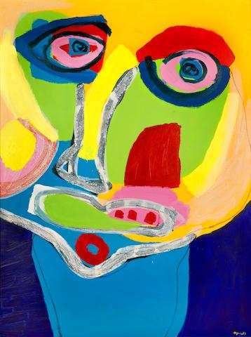 Karel Appel (1921-2006) Absract Face 160 x 120cm