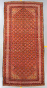A Malayer carpet Central Persia size approximately 6ft 5in x 13ft 6in