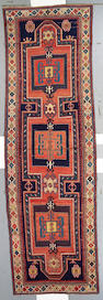 A Karabagh runner Caucasian size approximately 4ft 10in x 14ft 11in