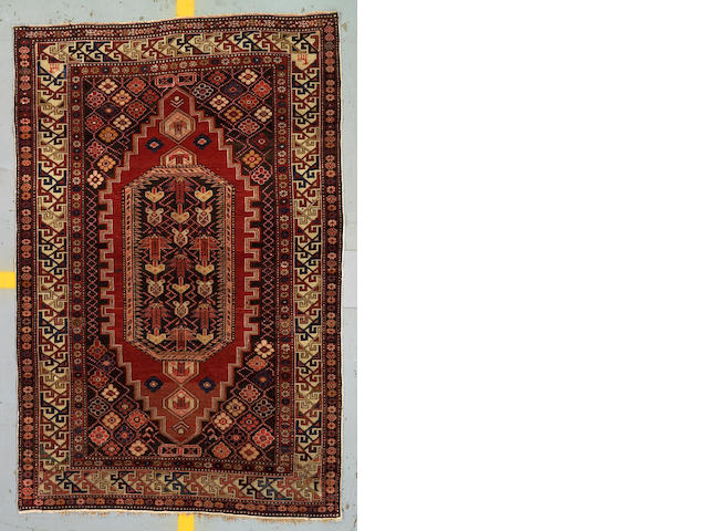 A Shirvan rug Caucasian size approximately 4ft 4in x 6ft 4in