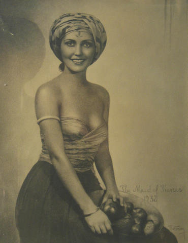 William Mortensen (American, 1897-1965); The Maid of Tunis; Romany Maid; Victoria/Rebecca; Patricia; (4)