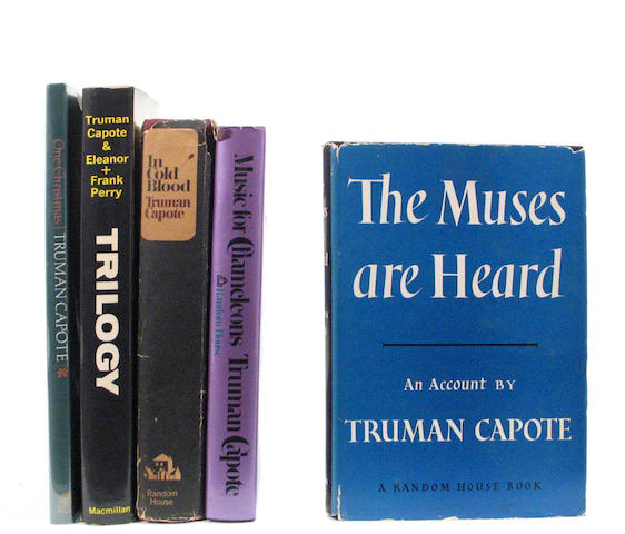 Capote, Truman.  Various titles.