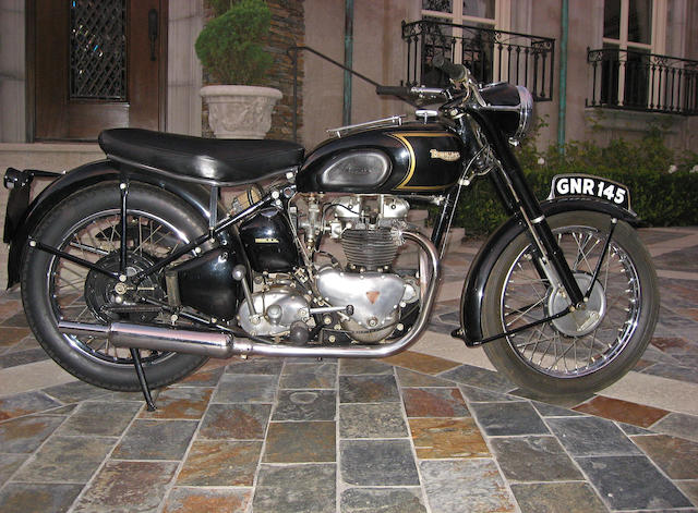 The ex-Steve McQueen,1951 Triumph 650cc Thunderbird Engine no. 6T 15662N