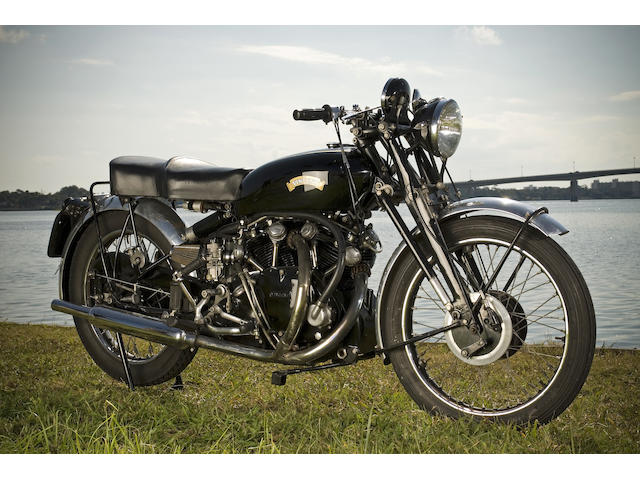 1953 Vincent 998cc Black Shadow Frame no. RC11832B Engine no. F10AB/1B/9932