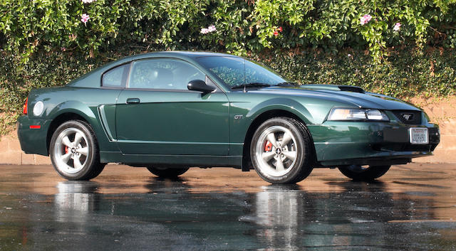 One owner from new,2001 Ford Mustang Bullitt GT Coupé  Chassis no. 1FAFP42X51F213442