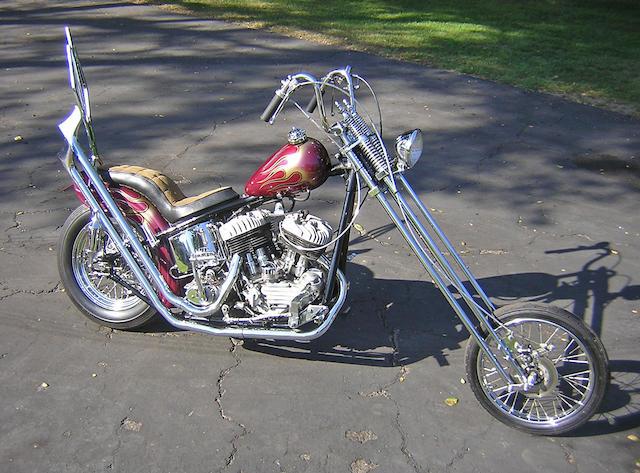 1946 Harley-Davidson 80cu in Model U Chopper Engine no. 46U2173