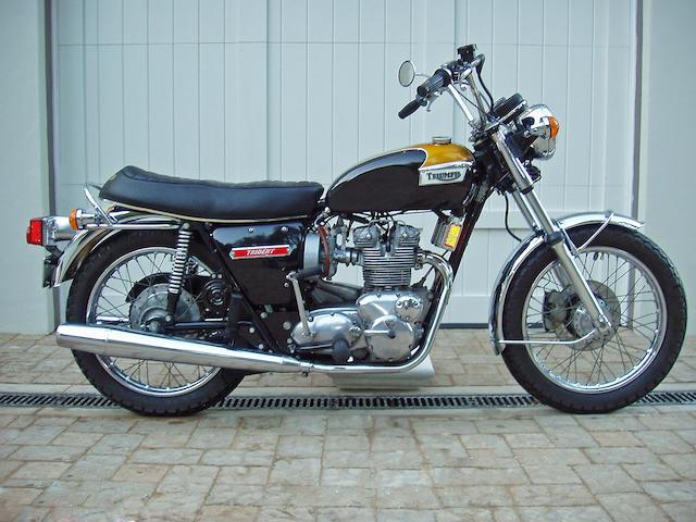 1974 Triumph 750cc T150V Trident
