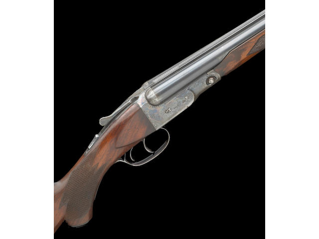 A 28 gauge Parker Brothers GHE double barrel shotgun