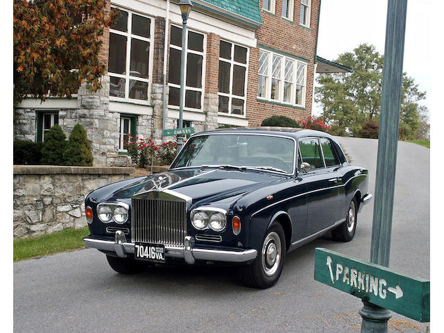 The Thomas Crown Affair,1967 Rolls-Royce Silver Shadow Two-Door Sedan  Chassis no. CRX2672