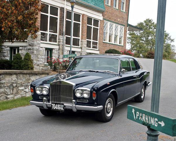 The Thomas Crown Affair,1967 Rolls-Royce Silver Shadow Two-Door Sedan  Chassis no. CRX2672