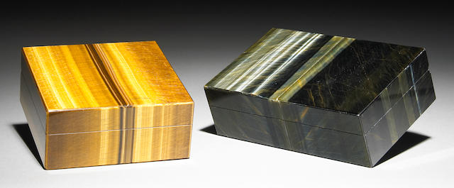 Two Gemstone Boxes