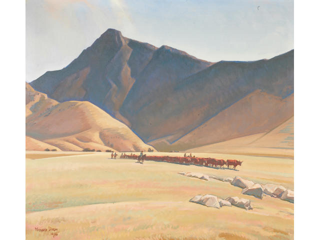 Maynard Dixon (1875-1946) High Hills of Tehachapi (No.558), 1936 36 x 40in