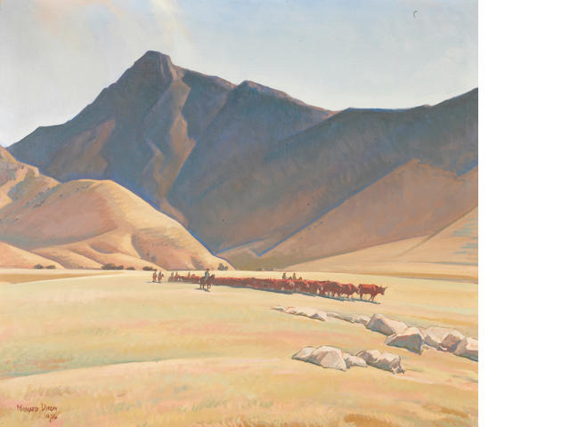 Maynard Dixon (1875-1946) High Hills of Tehachapi, 1936 (No.558) 36 x 40in