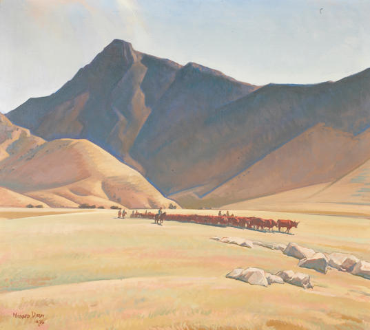 Maynard Dixon (1875-1946) High Hills of Tehachapi, 1936 (No.558) 36 x 40in