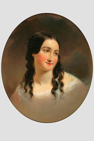 Thomas Sully (1783-1872) Portrait of a Woman 24 x 18 3/4in