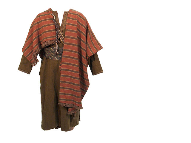 "A Charlton Heston costume from ""Ben-Hur"""