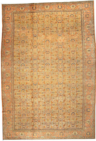 A Tabriz carpet Northwest Persia size approximately 13ft x 18ft