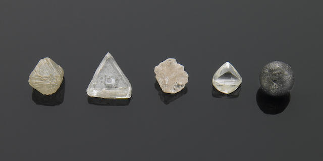 Five Rough Diamonds