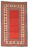 A Kazak rug Caucasian size approximately 4ft 7in x 7ft 7in