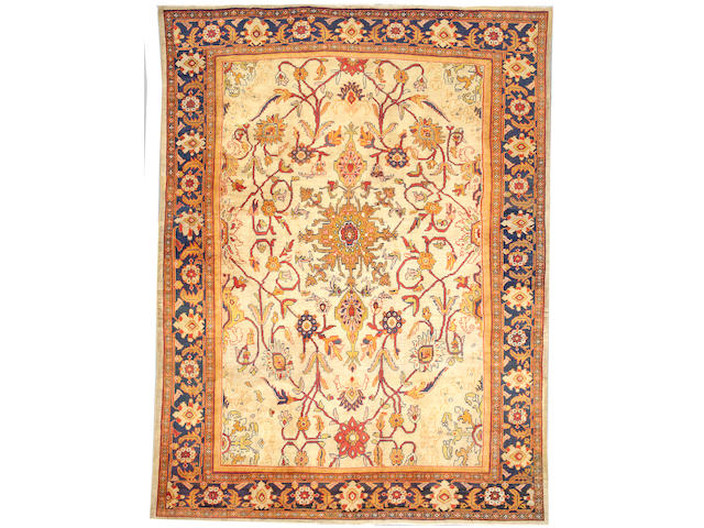 A Sultanabad carpet Northwest Persia size approximately 8ft 5in x 11ft 6in