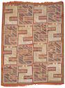 A Soumak carpet Caucasus size approximately 7ft x 9ft