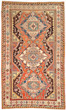 A Soumak runner Caucasus size approximately 5ft 9in x 9ft 5in
