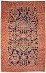 A Mohajaron Sarouk Central Persia size approximately 10ft 8in x 16ft 9in