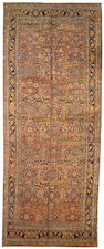 A Bidjar long carpet Northwest Persia size approximately 6ft x 16ft