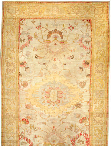 A Sultanabad carpet South Central Persia size approximately 12ft 9in x 21ft 3in