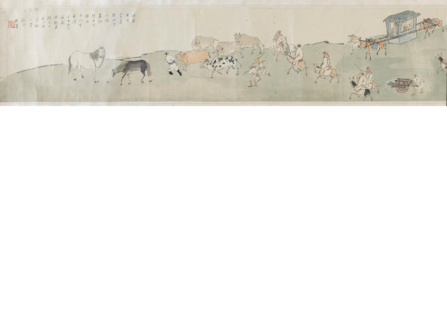 Wu Jingting (1904-1972) and Ding Yanyong (1902-1978): two paintings