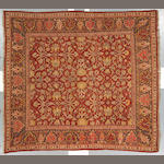 A Mahal carpet Central Persia size approximately 9ft 8in x 10ft 6in