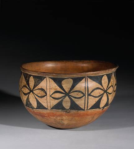A Cochiti dough bowl