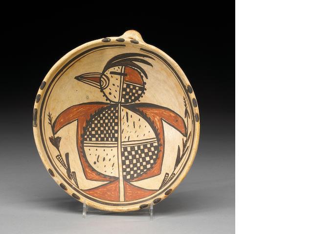 A Hopi polychrome bowl, Nampeyo