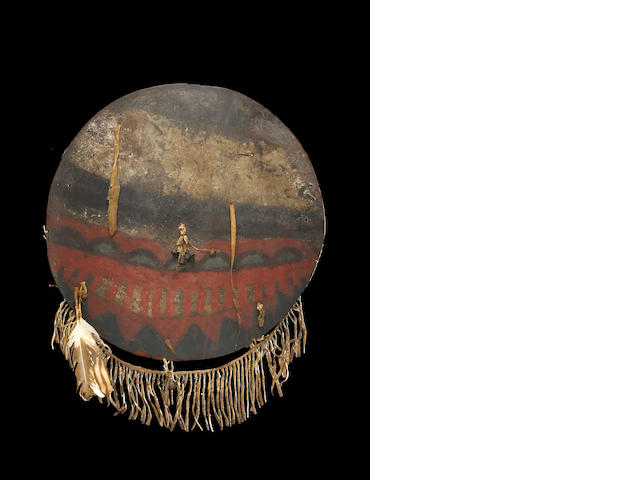 A Plains shield, ex-George Catlin