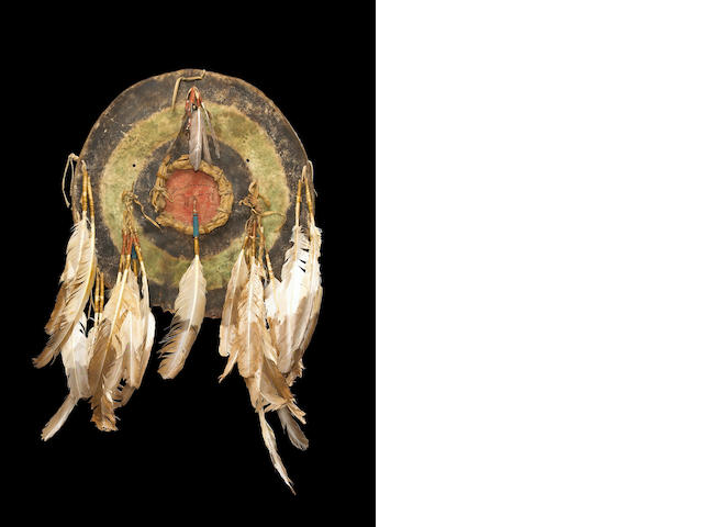 An Arapaho shield, Left Hand