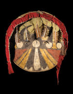 A Comanche shield and cover