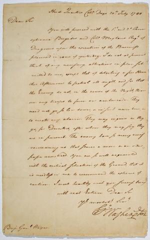 WASHINGTON, GEORGE. 1732-1799.